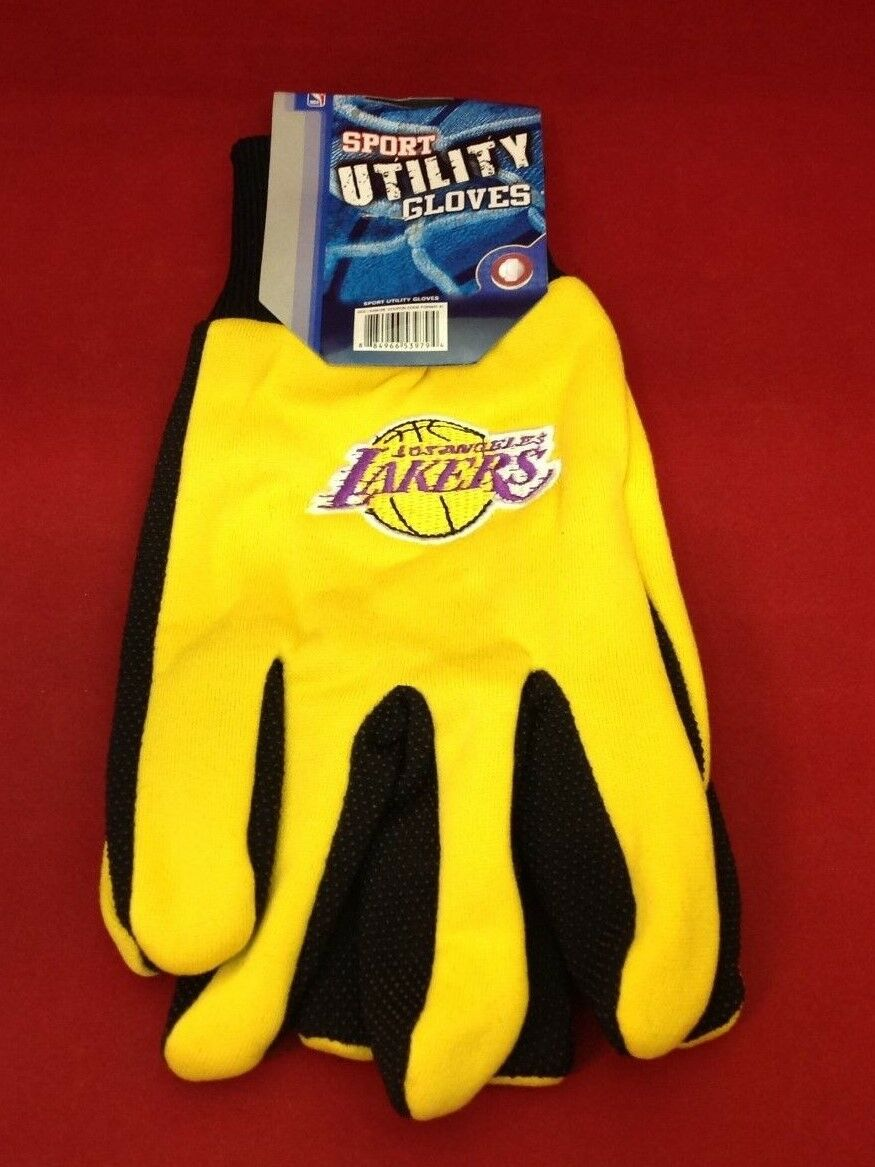 Los Angeles Lakers Forever Collectibles Sport Utility Gloves Adult Size