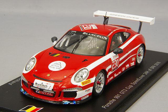 Para tu estilo de juego a los precios más baratos. Spark Nacional Modelo 1 43 Porsche Porsche Porsche 991 GT3 Cup 2016 Spa 24H  230 SB134 de Japón  solo para ti