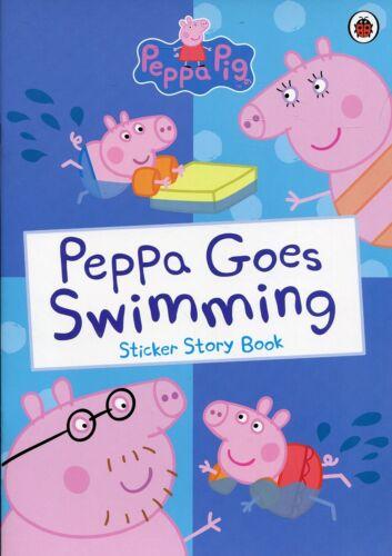 Peppa Pig Stickers Book 4 Different Designs Activity Reward Chart Sticker Book