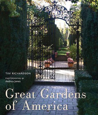 Great Gardens of America, Richardson, Tim, Good Book