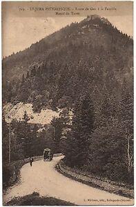 CPA-01-Ain-713-Route-de-Gex-a-la-Faucille-Massif-du-Turet