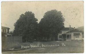 RPPC-Maple-Street-SABINSVILLE-PA-Tioga-County-Pennsylvania-Real-Photo-Postcard-1