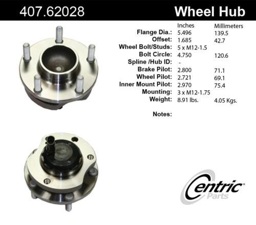 Wheel Bearing and Hub Assembly-C-TEK Hub Assembly Front Right fits 04-06 GTO
