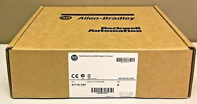 New Sealed Allen-bradley 2711c-t6t Series A Panelview Component C600 6-in Touch