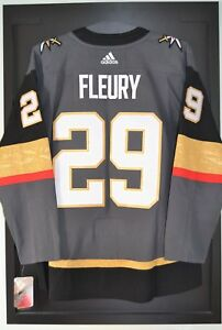 e5ac912b149 Marc-Andre Fleury Vegas Golden Knights Adidas Home NHL Hockey Jersey ...