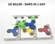 3x Lot Tri-Spinner Fidget Toy EDC Hand Finger Spinner Stress Focus US Seller