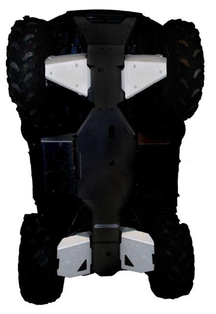 "Kawasaki Brute Force 750 650 Floorboard Foot guards 1//4/"" HDPE ALL YEARS"