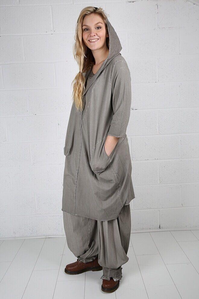 Fabulous ITALIAN ITALIAN ITALIAN Designer Brand luukaa-Abito Stravagante con Cappuccio 67b0f0