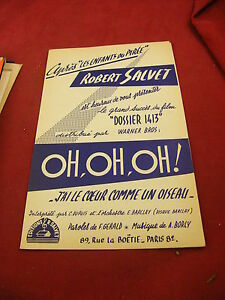 Partitura-Robert-Salvet-Oh-Oh-Oh-J-039-blanco-corazon-comme-un-pajaro