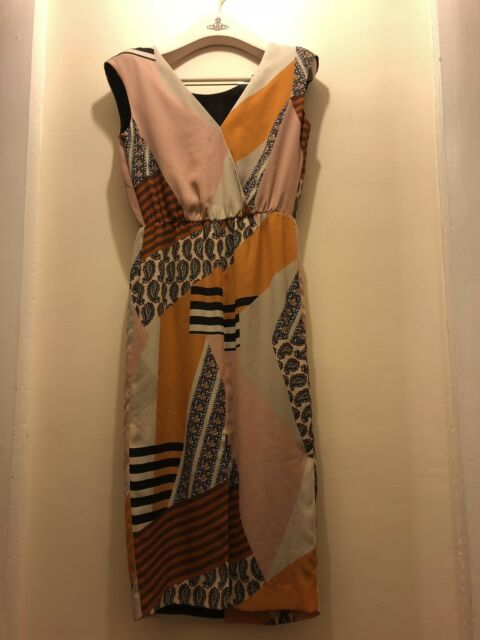 Next Geometric Petite Ladies Dress Size 8, Brand New