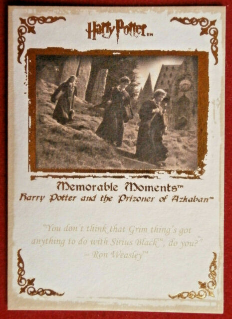 HARRY POTTER - MEMORABLE MOMENTS #1 - Card #43 - A VERY WOOLY DISCIPLINE