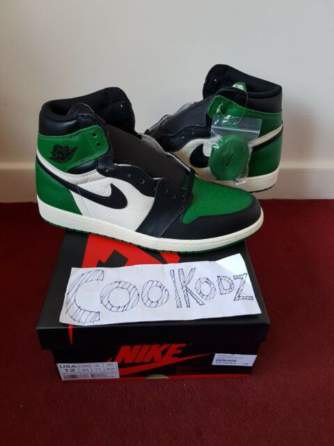a92670ddaadc42 Nike Air Jordan 1 Retro High Pine Green Uk13   Us14  in Hand