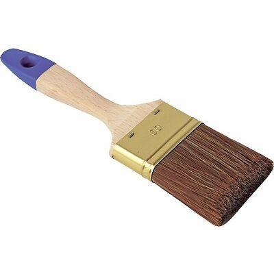 Lasurpinsel Premium  flach  von 40 bis 80 mm  Lackpinsel  Flachpinsel