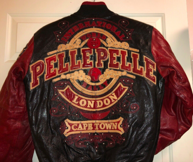 494bad168 Pelle Pelle International World Cup Rally London To Cape Town Leather  Jackets