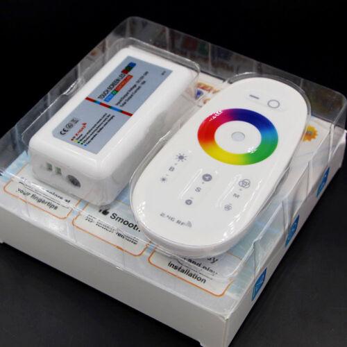 RF Remote Control Touch Screen Dimmer for RGB RGBW 5050 LED Strip Light 12-MAEK