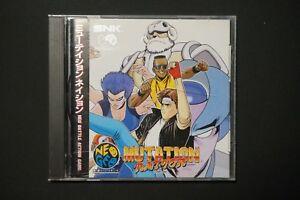 SNK-NEO-GEO-CD-Mutation-Nation-Japan-NEOGEO-Game-US-Seller