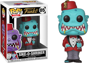 Sike-O-Shriner-Teal-Spastik-Plastik-Funko-Pop-Vinyl-New-in-Box