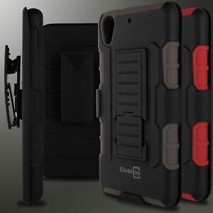 Combo-Funda-Clip-para-cinturon-hibrido-telefono-Funda-Protectora-Para-Htc-Desire-626-626s