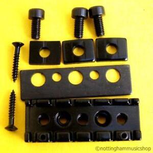 electric guitar locking nut black string lock new ebay. Black Bedroom Furniture Sets. Home Design Ideas