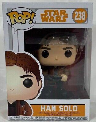 Star Wars #238 Solo Movie Han Solo Vinyl Figure New Funko POP