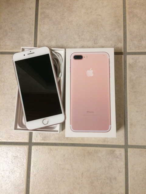 iPhone 7 Plus, 256 GB, pink, Perfekt, 7 PLUS 256 GB Fin…