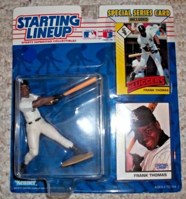 1993 Starting Lineup Frank Thomas White Sox Action Figure