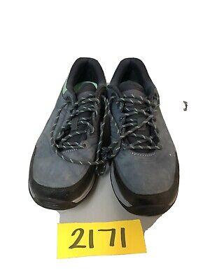 Blue Gray Control Trail Walking Shoes
