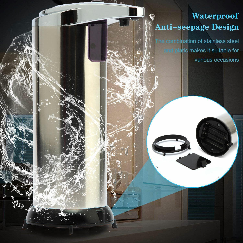 Wenko Seifenspender Bathroom Flüssigseifenspender Keramik Spender Seifendosierer