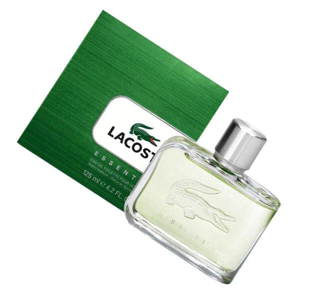 wholesale dealer 1e069 5fa57 Lacoste Essential Herren 125ml Eau De Toilette Spray