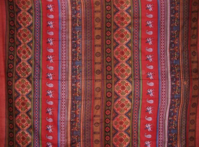 "Sanganeer Block Print Indian Tapestry Cotton Bedspread 108/"" x 108/"" Queen-King"