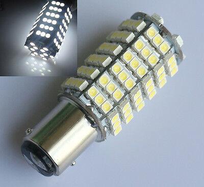 4x BAY15D 1157 P21 SMD 120 LED Weiß Lampe Licht Birne Bremslicht Rücklicht 12V