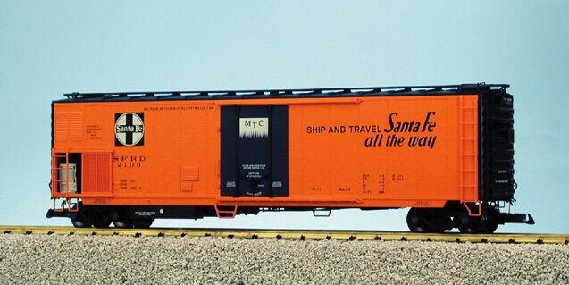 USA Trains G Scale 50' Mechnical Reefer R16700 Santa Fe