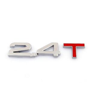 Universal-Coche-Auto-3D-Emblema-Insignia-Pegatina-Becal-Metal-Cromado-2-4T-A9