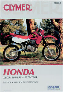 Details about CLYMER Repair Manual for Honda XL500S XL500R XR500 XR500R on