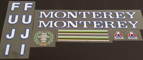 Fuji Monterey  Bicycle Decal Set sku Fuji-S111
