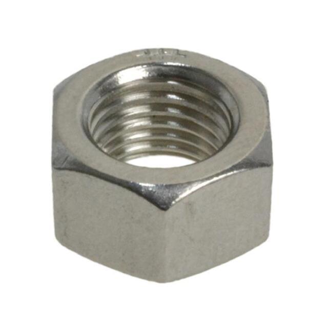 "G304 Stainless Steel 3/4"" UNF Imperial Fine Hex Standard Full Nut"