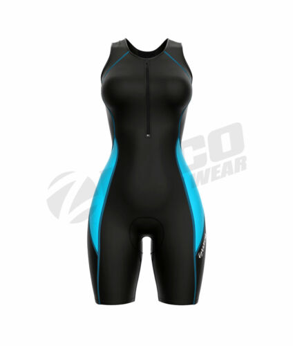 Zimco Elite Women Compression Triathlon Suit Racing Tri Suit Triathlon Short