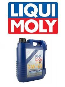5-Liter Liqui Moly Leichtlauf High Tech 5W-40 Synthetic Engine Oil 2332 NEW