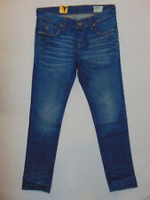 1796e027a69 G-Star Raw 3301 Low Tapered Medium Aged W32 L34 Mens Blue Lexicon Denim  Jeans