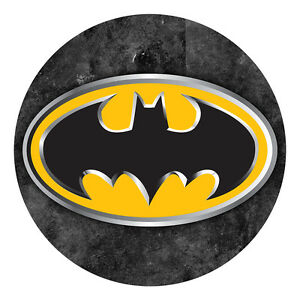 Batman Logo Sheet Cake