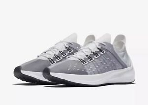 NEW Sz 6 Women s Nike EXP-X14 Running Shoe White Wolf Grey AO3170 ... 80389718d