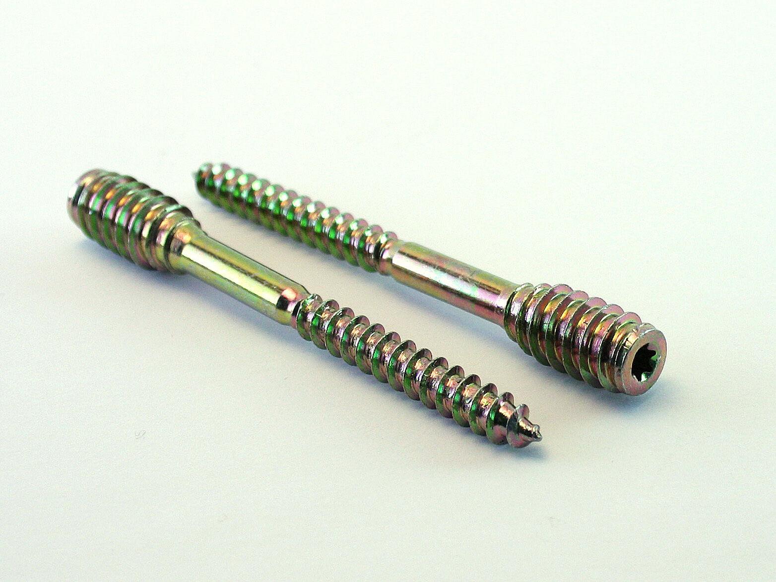 Distanzschrauben Justierschrauben Abstandschrauben 100 Stk. 6mm Durchmesser