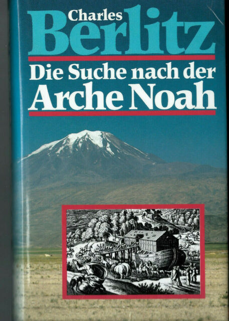Berlitz - the search for the Ark Noah-good condition