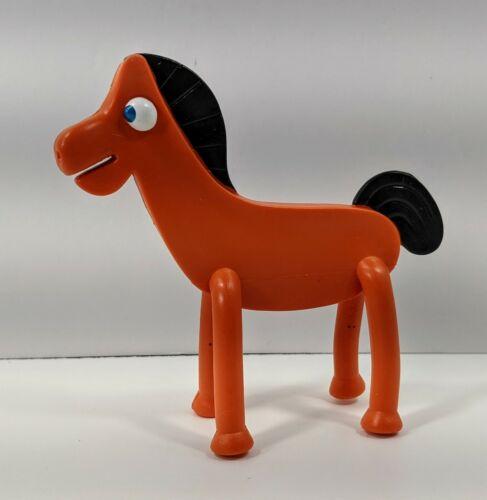 "Gumby Horse POKEY 4.5/"" Bendy Bendable Toy Figure Prema 2016"