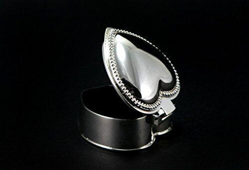 Astuccio per Accessori Cuore argentoato argentoo Cassetta Porta Porta Porta Gioielli Cofanetto 7afdef