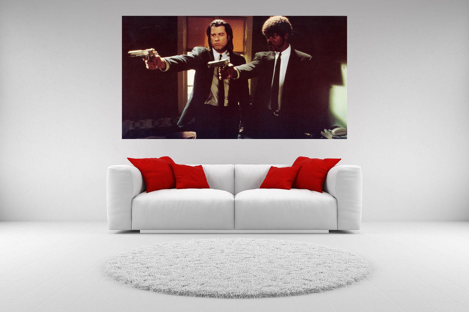 Pulp Fiction Canvas Giclee Print John Travolta Unframed Home Decor Fine Wall Art
