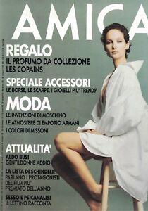 1994 04 11 - AMICA - 11 04 1994 - N.14/15 - JADE MALLE - SENZA REGALO - Italia - 1994 04 11 - AMICA - 11 04 1994 - N.14/15 - JADE MALLE - SENZA REGALO - Italia