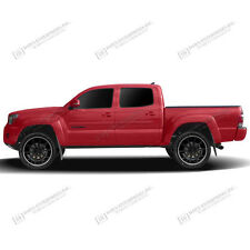 Body Side PAINTED Trim Moldings For: TOYOTA TACOMA DOUBLE CAB 2005-2017