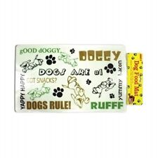 DOG FOOD PLACEMAT Pet Mat for Under Dishes Easy to Clean & Moisture Resistant