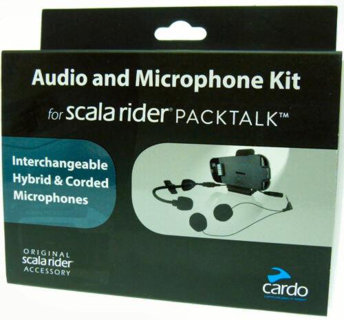 Cardo Scala Rider Audio y Kit de micrófono para PackTalk//Smartpack